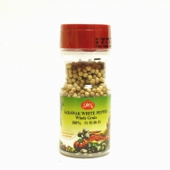 Best Quality 100% Pure Sarawak White Pepper Whole (60gm)