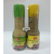 Best Quality 100% Pure White Pepper &  Black Pepper Ground 2 in 1