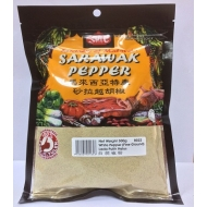 Best Quality 100% Pure Sarawak White Pepper Ground in plastic bag